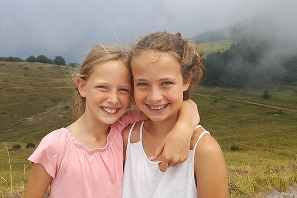 Mijn dochters, Italie 2018