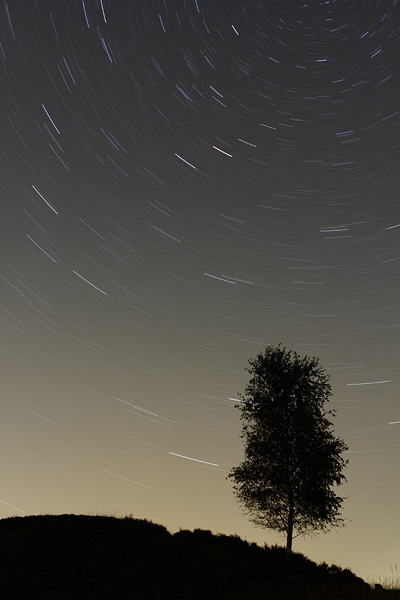 Sterrensporen - Star trails