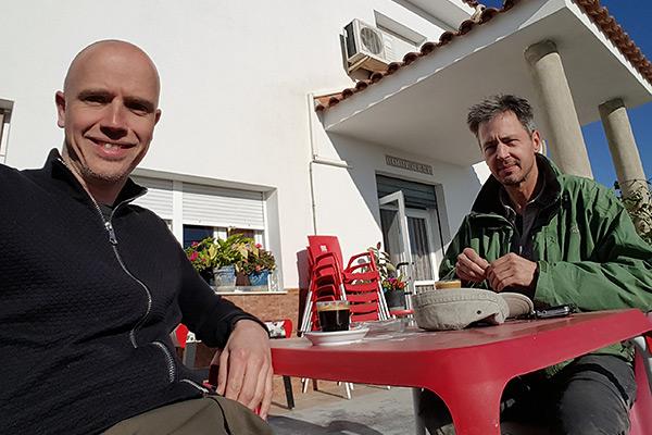 Lunch Spanje